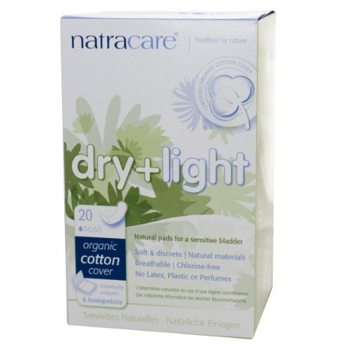 Natracare Incontinence Pad Dry/Light   20