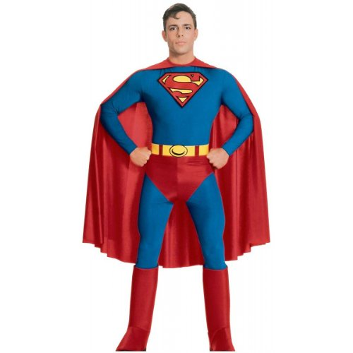 Superman Plus Size Adult Halloween Costume