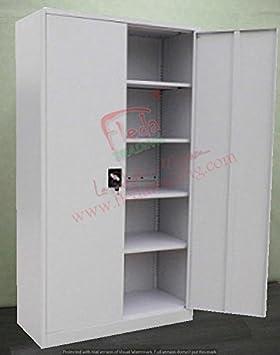 Armarios Metalico para Oficina con Puertas 100x45x200h cm