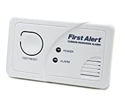 FIRST ALERT Battery Carbon Monoxide Alarm from FIRST ALERT