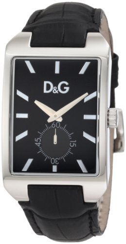 D&G Dolce & Gabbana Men's DW0772 Colorado Tank Analog White Sub Eye Watch