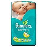 Pampers Baby Dry Pañales Tamaño 2Essential Pack 60Pañales