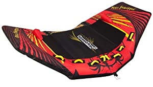 Full Throttle Speed Ray Inflatable Tow Tube (4-Person)
