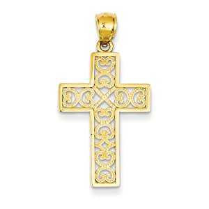 Gift and Jewels - individu- pendentifs or jaune 14 carat - Largeur 17,00 mm