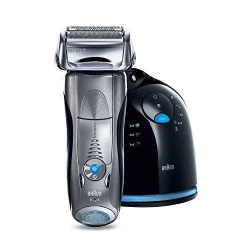 Braun Series 7 790cc-4 Electric Foil Shaver for Men with Clean and Charge Station, Electric Men's Razor, Razors, Shavers, Cordless Shaving System (Braun Razor 790 compare prices)