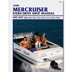 Clymer MerCruiser Alpha One, Bravo One, Two & Bravo Three Stern Drives 1995-1997