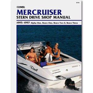 Clymer MerCruiser Alpha One, Bravo One, Two & Bravo Three Stern Drives 1995-1997