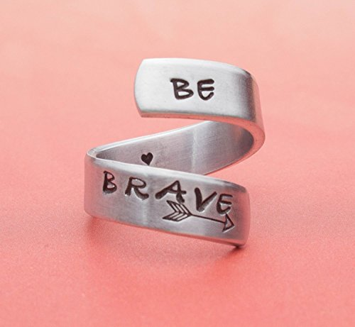 be-brave-aluminum-hand-stamped-wrap-ring-small-medium-size-fits-ring-sizes-5-to-8-handmade-jewelry-c