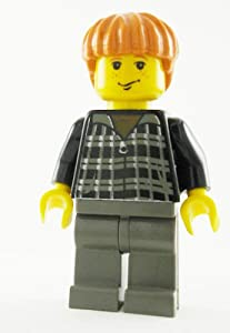 LEGO Harry Potter: Ron Weasley with Black Jumper Minifigure