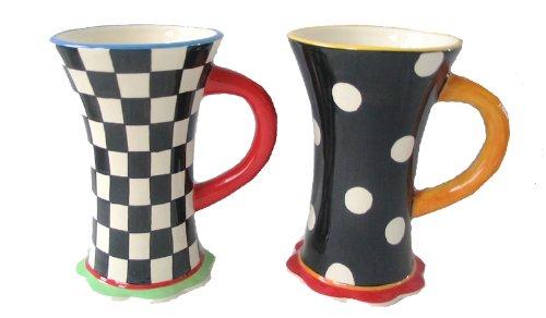 Home ETC 66833 Beyond Blossoms Mug, Set of 4