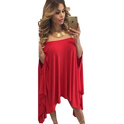 meinice-senza-spalline-asimmetrico-drape-club-dress-red-taglia-unica