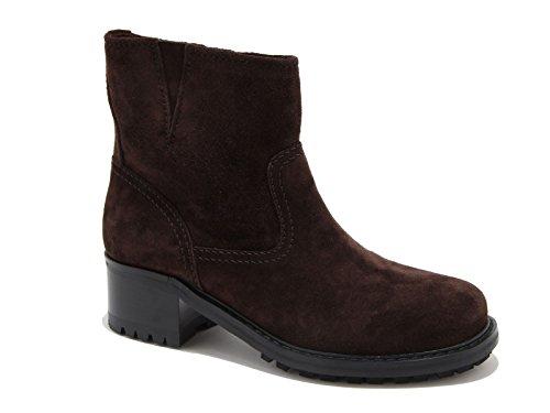 Stivaletti comodi Car Shoe Pelle scamosciata marrone - Codice modello: KDT83I 0B2 F0003 - Taglia: 37.5 IT