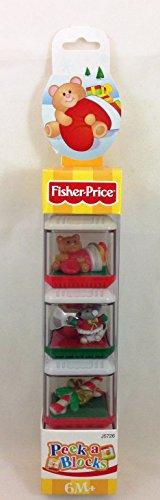 Fisher Price Christmas Peek A Blocks J5726 front-89493