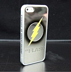 """Super Hero"" Cartoon and Logo Series Hard Shell Case for iPhone 5 - The Flash"
