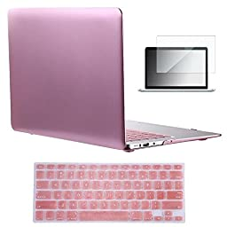 Vasileios 3in1 Matte Frosted Satins-touch Hard Shell Case Cover for 13-inch Macbook Pro 13.3\