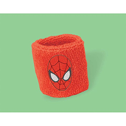 Spiderman Sweatbands 2 Per Package Party Supply Favors