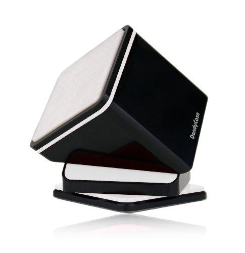 Dandycase Universal Car Windshield & Dashboard Display Stand (All Models - Iphone 5 / 4S, Galaxy S4 / S3, Htc One M7 / One X, Razr Maxx, Lumia 920, Optimus G, Nexus 4, Blackberry Z10 / Q10) - Retail Packaging (Black) front-362364