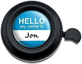 Jon Hello My Name Is Bicycle Handlebar Bike Bell