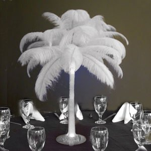 "Amazon.com - 6/Set Ostrich Feather Centerpieces with 28"" vases"