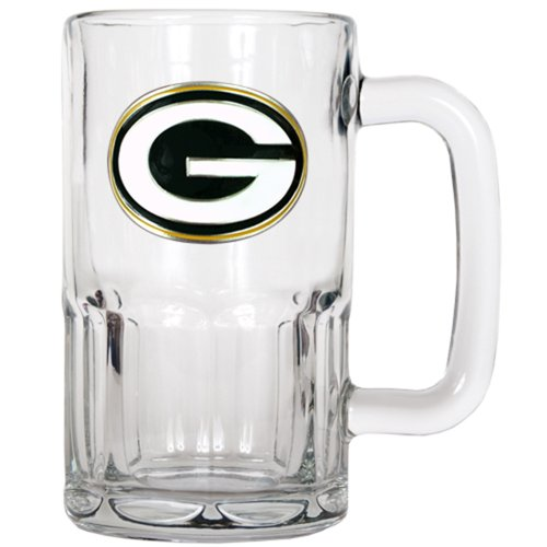 NFL Green Bay Packers 20-Ounce Root Beer Style Mug - Primary Logo (Green Bay Packer Beer Glass compare prices)