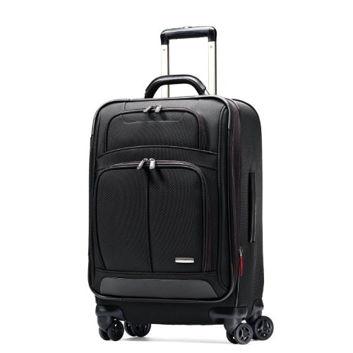 Samsonite Premier 25 Inch Spinner Luggage, Black, One Size top deals