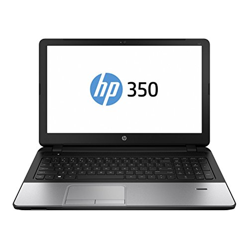 HP 350 J4U36EA 39,62 cm (15,6 Zoll) Business Notebook (Intel core i5 4210U, 1,6GHz, 6GB RAM, 1000GB HDD, AMD Radeon HD 8670M 2GB Grafikkarte, DOS) schwarz