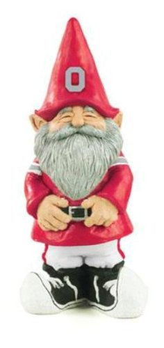 Ohio State Buckeyes Garden Gnome
