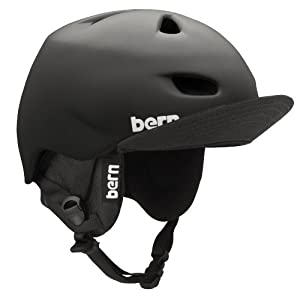 Bern Brentwood Matte Helmet with Audio Flip Visor