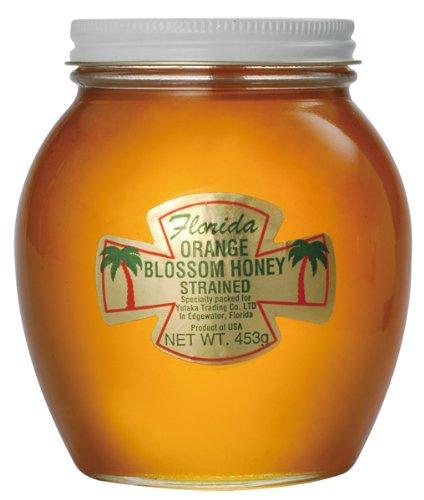 【Amazonの商品情報へ】フロリダ オレンジハチミツ 巣無し 453g