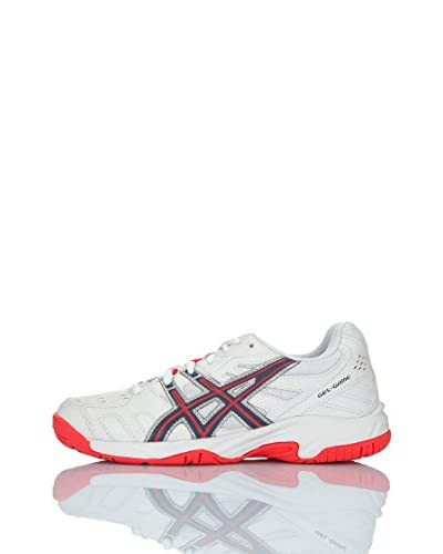 Asics Zapatillas Performance Gel-Game 4 Gs Blanco / Rojo