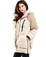 Komene Women's Winter Outwear Thicken…