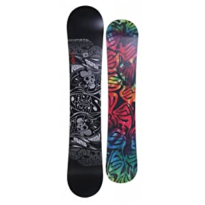 Santa Cruz Fusion Trip Out Snowboard - Black 160cm