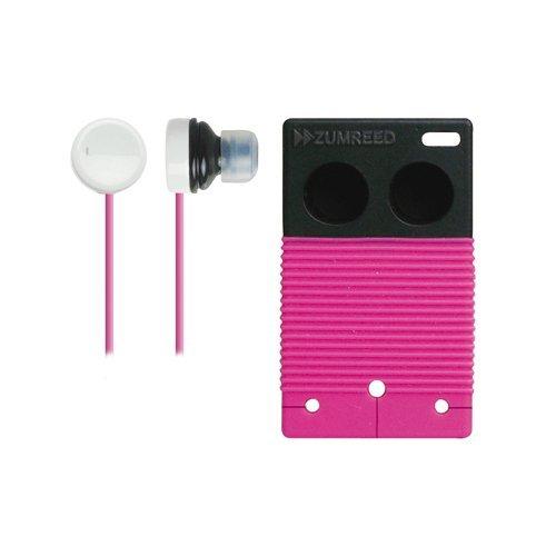 Zumreed / Poppin Bi-Color Earbud Earphones, Pink