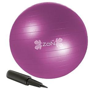 ZoN Pink Balance Ball - 55 cm