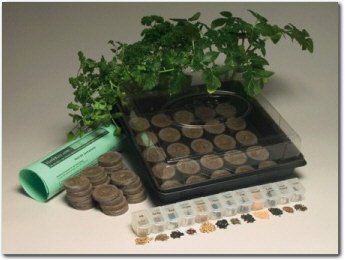 Countertop Herb Garden Kit : Aero Garden ? Automatic Indoor Fresh Garden Growing System ? Black ...