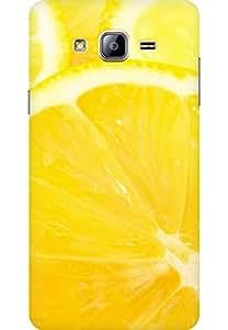AMEZ designer printed 3d premium high quality back case cover for Samsung Galaxy On5 (lemon)