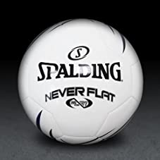 Neverflat Soccer Ball - Blue/White