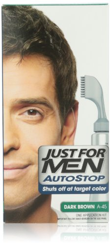 JUST FOR MEN Autostop Hair Color, Dark Brown