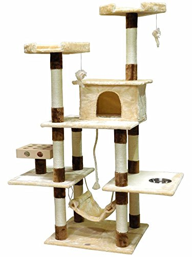 Go Pet Club IQ Busy Box Cat Tree, 44