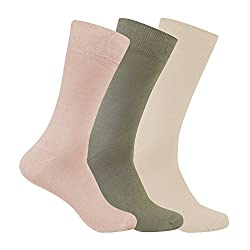Supersox Mens Regular Length Socks (Pack of 3) (MMCP0029_Multi-Coloured_Free Size)