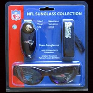 New England Patriots Sunglasses 3 Piece Set