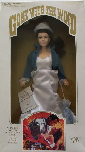 Gone with the Wind Collectible Doll -- Scarlett O'Hara in White Dress