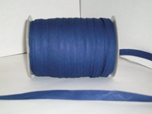 Navy Double Fold Bias Tape 50 Yds. 1/2 Inch