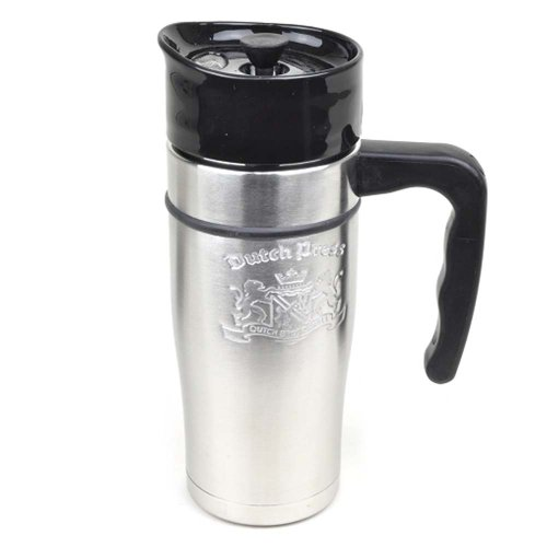 Dutch Bros. Coffee Stainless Steel French Press Travel Mug 20 Oz from Fly Cup Ltd at the Coffee ...