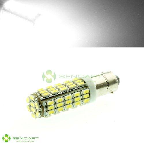 Ba9S 5W 6500K 270-Lumen 68X0805 Smd Led White Light Blubs (Pair / 12V)