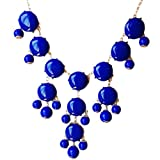 Bubble Necklace,Statement Necklace, Bubble Jewelry(Fn0508-Blue)