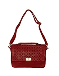 Hotberries Women's Sling Bag (Red) (SBCOS-895)