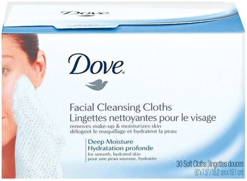 Dove Cleansing Cloths, Refill Pack, 30 Soft Cloths (pack Of 3)