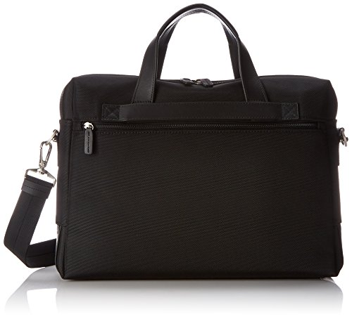 Jack Georges   Top Zip Case,Black,One Size Jack Georges Nylon Briefcase