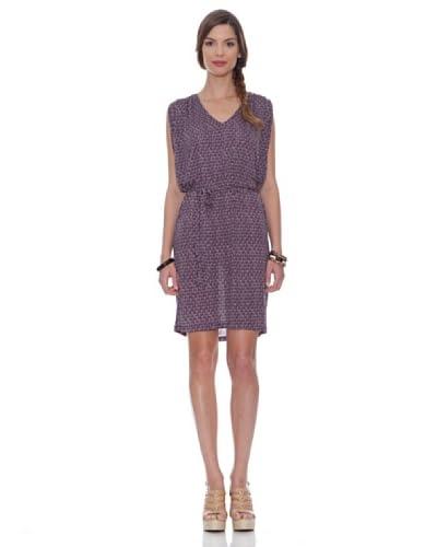 Siyu Vestido Gotas Violeta